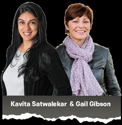 Kavita and Gail